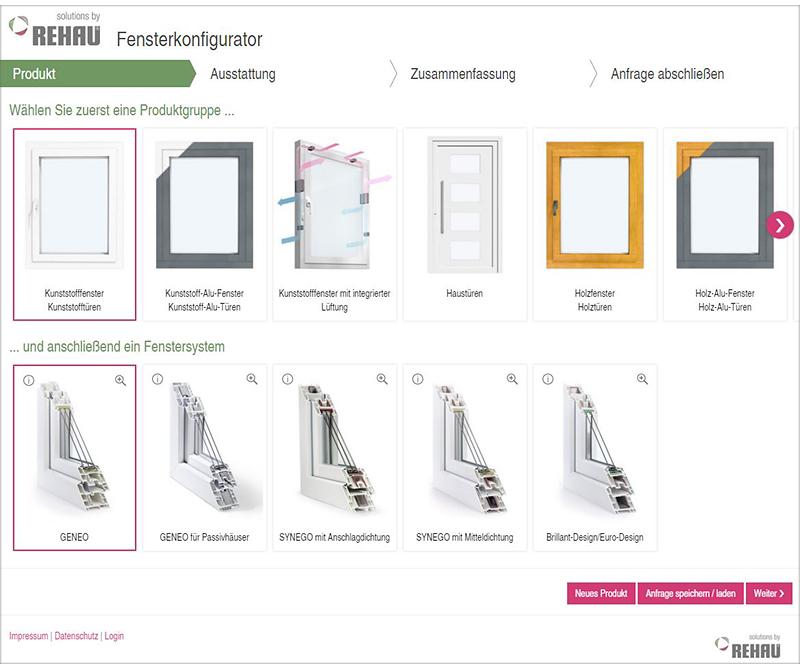 Fenster h bner gmbh kiel rehau fensterkonfigurator for Rehau fenster
